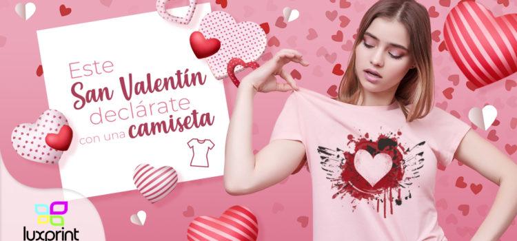 Este San Valentín declárate con una camiseta